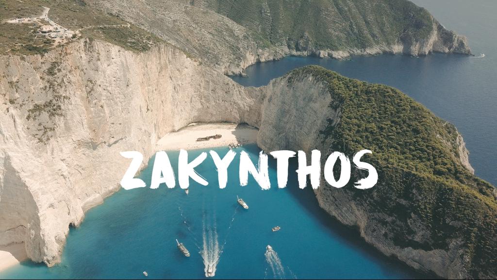 Reisvideo van het Griekse eiland Zakynthos